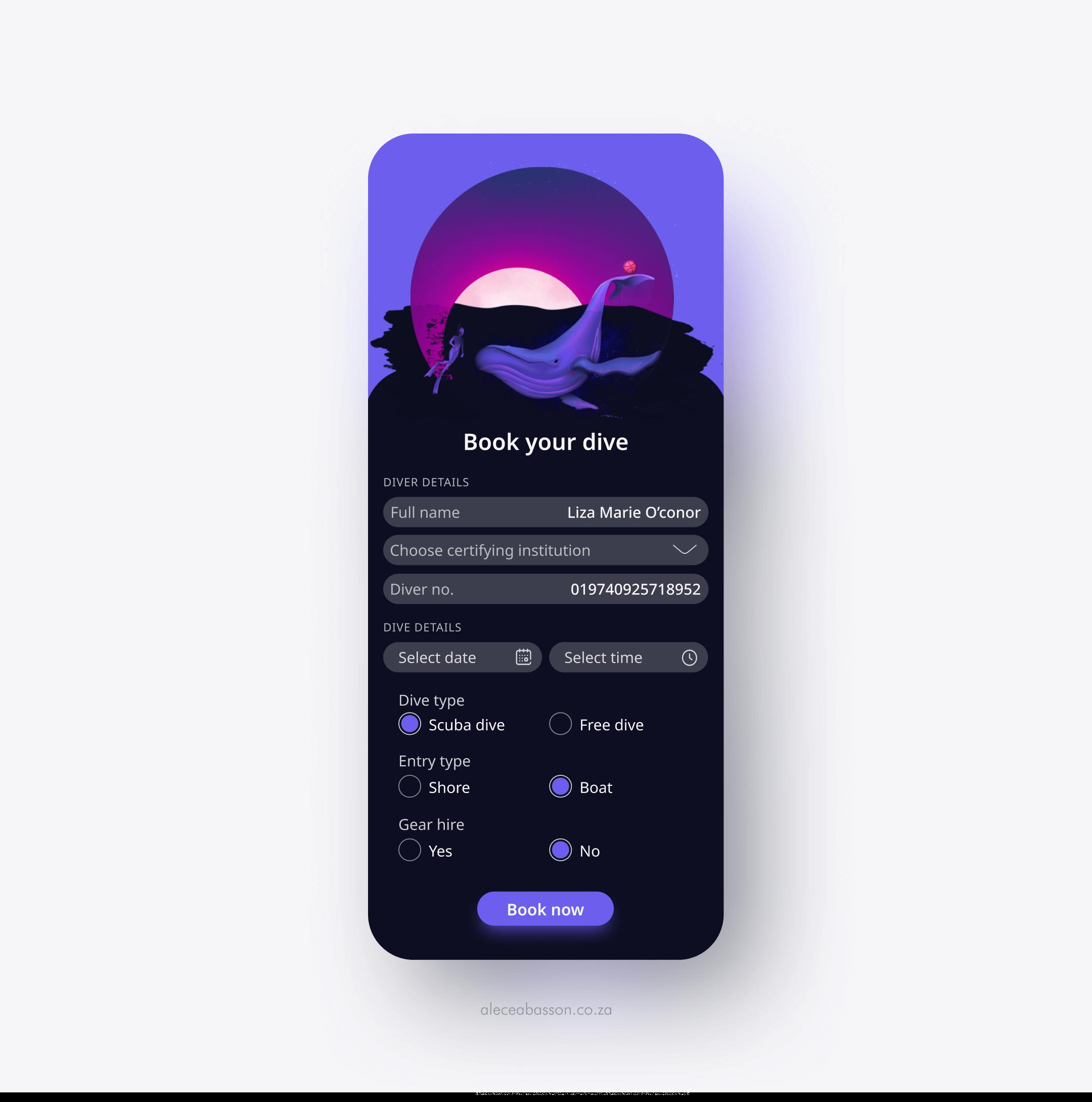 Dive-UI